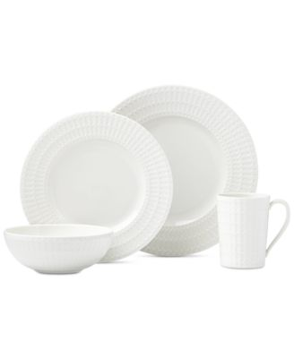 Entertain 365 Sphere Collection 4-Piece Place Setting, Created for Macy's