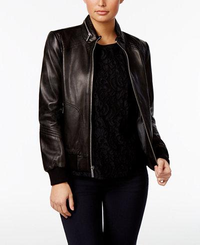 Women Leather Jackets: Shop Women Leather Jackets - Macy's