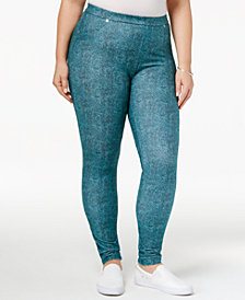 MICHAEL Michael Kors Plus Size Printed Leggings
