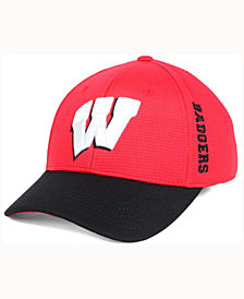 Top of the World Wisconsin Badgers Booster 2Tone Flex Cap