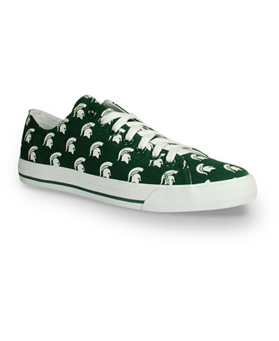 Row One Michigan State Spartans Victory Sneakers