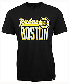 '47 Brand Men's Boston Bruins Script Splitter T-Shirt