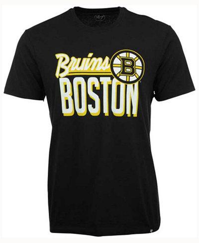 '47 Brand Men's Boston Bruins Script Splitter T-Shirt