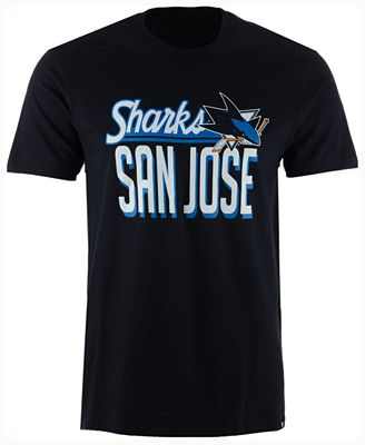 '47 Brand Men's San Jose Sharks Script Splitter T-Shirt