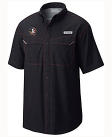 Columbia Men's Florida State Seminoles Low Drag Off Shore Button Up Shirt