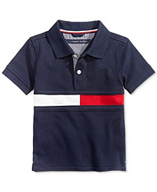 Baby Boys Flag Polo Shirt
