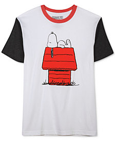 Jem Men's Lounging Snoopy Short-Sleeve T-Shirt