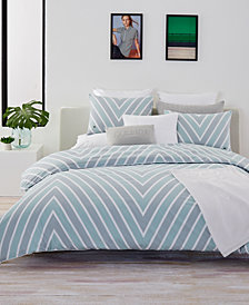 CLOSEOUT! Lacoste Home Bandol Cotton Twin/Twin XL Duvet Cover Set