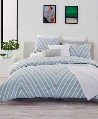 CLOSEOUT! Lacoste Home Bandol King Comforter Set