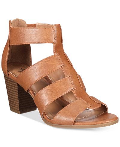 Style & Co Janinaa Block-Heel Sandals, Created for Macy's