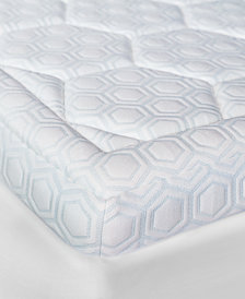 "SensorGel® Luxury iCOOL 3"" Gel-Infused Memory Foam Queen Mattress Topper"