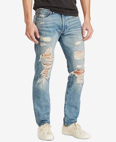 Denim & Supply Ralph Lauren Men's Prospect Slim Ripped Jeans