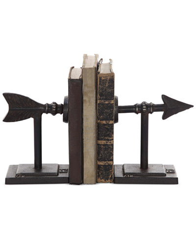 2-Pc. Metal Arrow Bookend Set