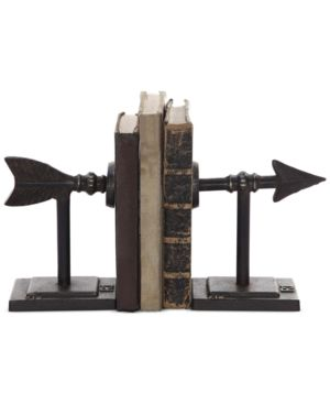 Image of 2-Pc. Metal Arrow Bookend Set