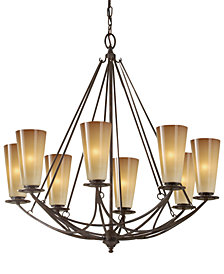Feiss El Nido Collection 8 Light Chandelier
