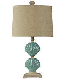 StyleCraft Clam Shells Table Lamp