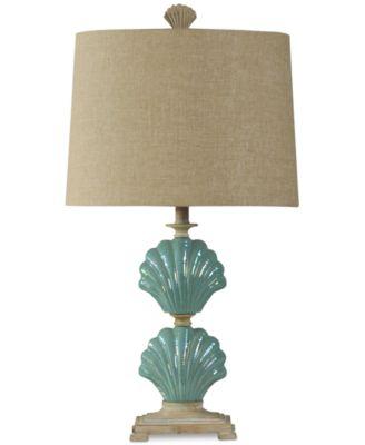 StyleCraft Clam Shells Table Lamp