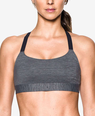 Under Armour Eclipse Heathered Mid-Impact Sports Bra