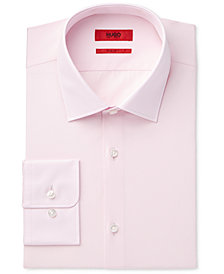 HUGO Men's Slim-Fit/Sharp-Fit Solid Dress Shirt