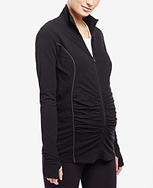 Motherhood Maternity Full-Zip Jacket