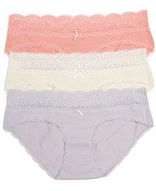 Motherhood Maternity Bikini Briefs, 3-Pack
