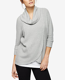 A Pea In The Pod Nursing Cowl-Neck Sweater
