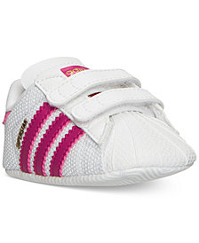 adidas Infant Superstar Crib Casual Sneakers from Finish Line
