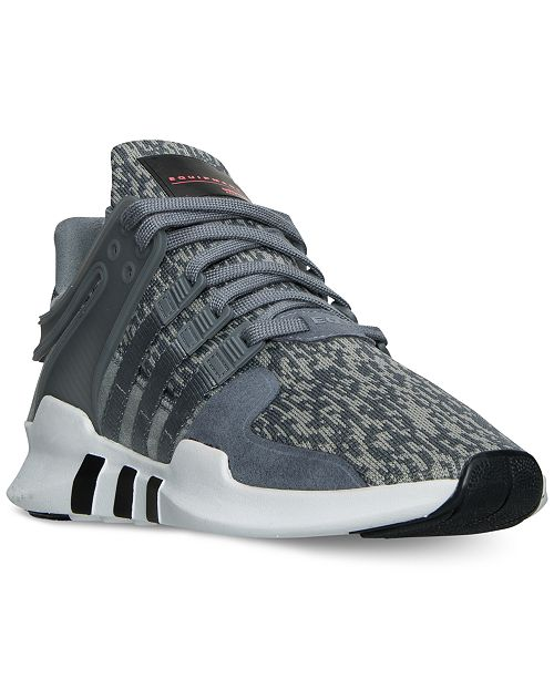 size 40 086dc 040fc ... adidas Mens EQT Support ADV Casual Sneakers from Finish ...