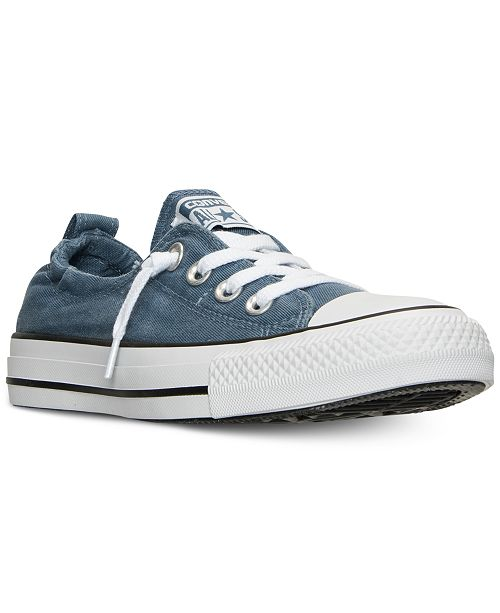 ... Converse Women s Chuck Taylor Shoreline Ox Casual Sneakers from Finish  Line ... 8f73e5734