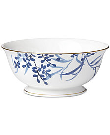 kate spade new york Birch Way Indigo Collection Serving Bowl