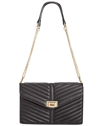 INC International Concepts Yvvon Turnlock Crossbody, Created for Macy's