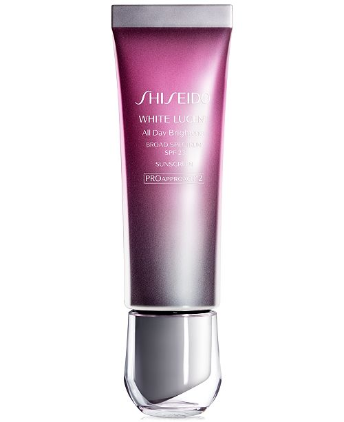 Shiseido White Lucent All Day Brightener, Broad Spectrum SPF 23, 1.8 oz.