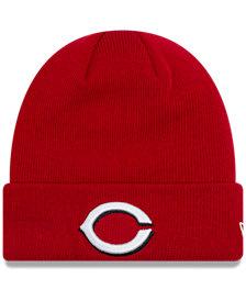 New Era Cincinnati Reds Basic Cuffed Knit Hat