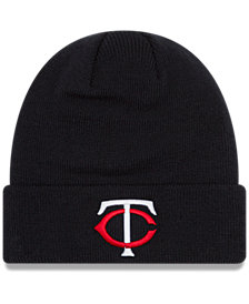 New Era Minnesota Twins Basic Cuffed Knit Hat