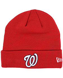 New Era Washington Nationals Basic Cuffed Knit Hat