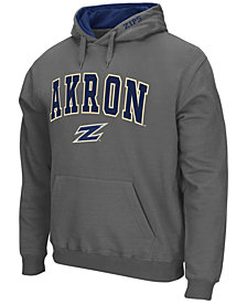 Colosseum Men's Akron Zips Arch Logo Hoodie