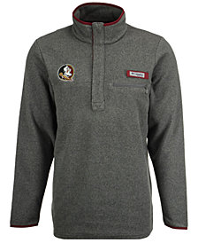 Columbia Men's Florida State Seminoles Harborside Fleece Pullover