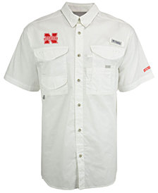 Columbia Men's Nebraska Cornhuskers Bonehead Short Sleeve Shirt