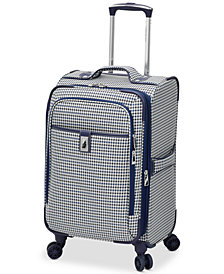 "CLOSEOUT! London Fog Oxford Hyperlight 21"" Expandable Spinner Carry-On Suitcase, Created for Macy's"
