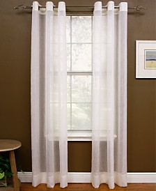 Miller Curtains Sheer Preston Grommet Window Treatment Collection