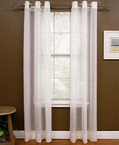 Miller Curtains Sheer Preston Grommet Window Treatment Collection