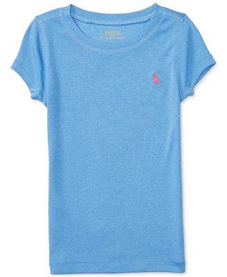 Ralph Lauren Embroidered T-Shirt, Toddler & Little Girls (2T-6X)