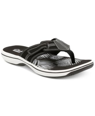 Image of Clarks Collection Women's Brinkley Bree Flip-Flops