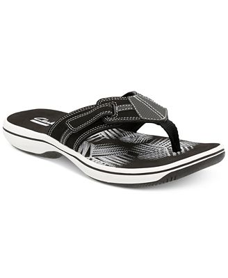 Clarks Collection Women's Brinkley Bree Flip-Flops