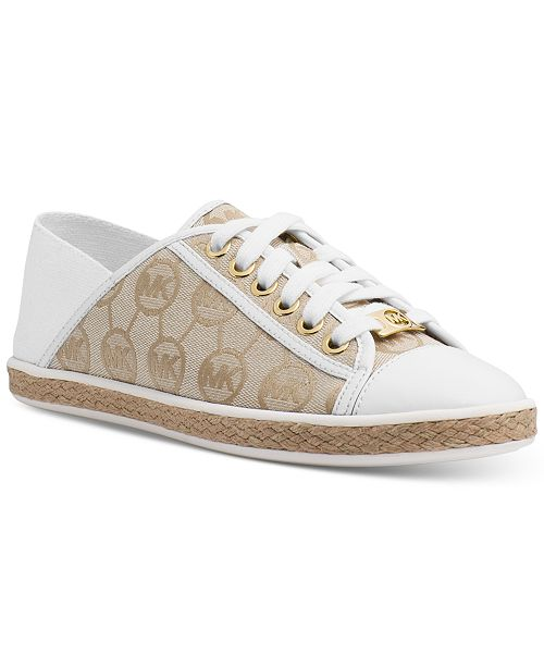 2ace238d666a Michael Kors Kristy Slide Lace-Up Sneakers   Reviews - Athletic ...