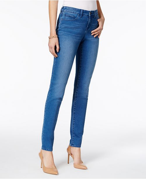style co curvy fit skinny jeans created for macy s jeans
