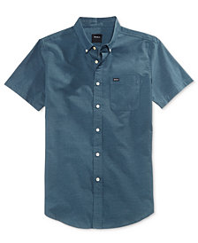 RVCA Men's That'll Do Oxford Cotton Shirt