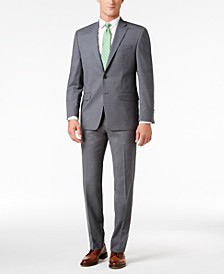 Men's Classic-Fit Gray UltraFlex Suit