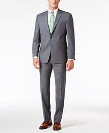 Lauren Ralph Lauren Men's Classic-Fit Gray UltraFlex Suit