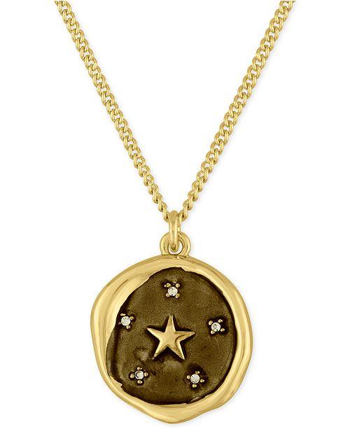 RACHEL Rachel Roy Gold-Tone Star Pendant Necklace